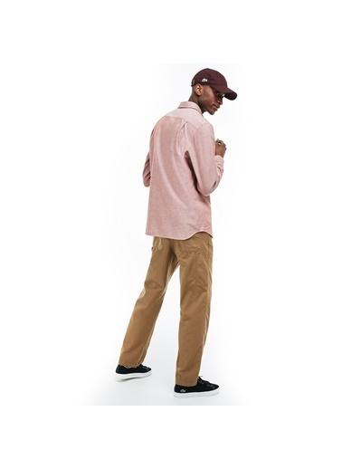 Lacoste Erkek Regular Gömlek CH4976.AFS Bordo
